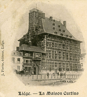 Curtius Museum - Image from an 1898 postcard.