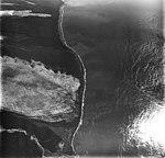 La Perouse Glacier, tidewater glacier terminus with wide lateral moraine, August 31, 1977 (GLACIERS 5577).jpg