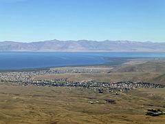 Lac Sevan depuis le mont Armaghan (1)