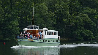 MV Lady Wakefield - Image: Lady Wakefield Approaching Howtown (7530290420)