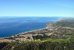 Laguna Beach and the Pacific Ocean