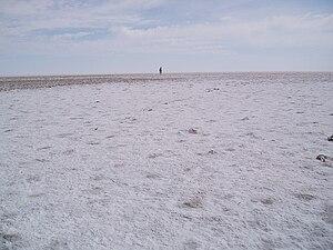 Lake Eyre - Kati Thanda–Lake Eyre salt crust