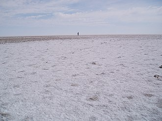 Lake Eyre - Kati Thanda–Lake Eyre salt crust