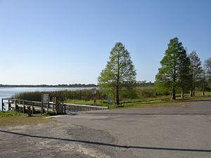 Lake Alfred, Florida - Image: Lake Rochelle boat ramp Lake Alfred FL