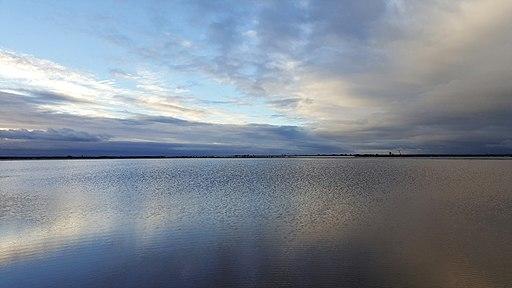 Lake Tyrrell in Victoria, Australia