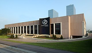 Lakewood Church Central Campus former sports arena and current megachurch in Houston, Texas