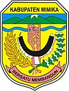Official seal of Mimika Regency