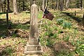 Lamington Black Cemetery, NJ - obelisk tombstone.jpg