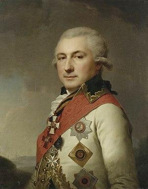 José de Ribas - Image: Lampi Portrait of De Ribas Hermitage 1796