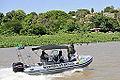 Lancha da Marinha do Brasil patrulha o rio Paraguai (8091586101).jpg