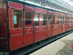 Lancashire, Derbyshire and East Coast Railway - Lancashire Derbyshire and east coast railway carriage built 1896