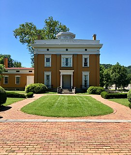 Lanier Mansion historic home in Madison, Indiana