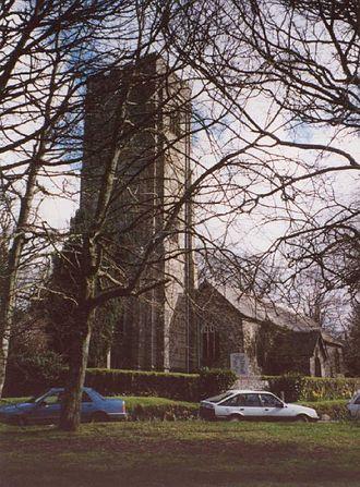 Lanivet - Lanivet Church