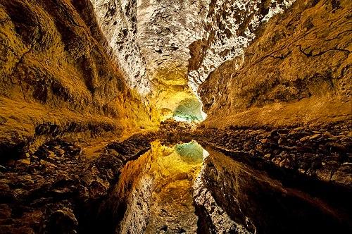 Cueva de los Verdes, Lanzarote, Islas Canarias (España).