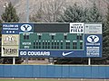 Larry H. Miller Field scoreboard at BYU.JPG