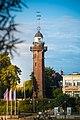Latarnia morska Gdańsk Nowy Port widziana od strony Westerplatte.jpg