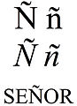 Latin small and capital letter n with tilde.jpg