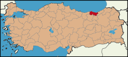 Latrans-Turkey location Trabzon.svg