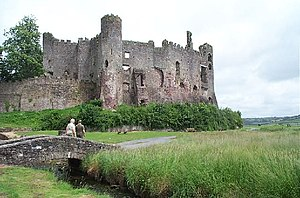 Laugharne Castle - Laugharne Castle