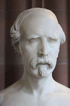 John Hutchison (sculptor) - Lawrence Macdonald by John Hutchison 1860