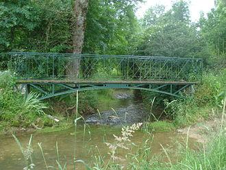 Colin (river) - River at Sainte-Solange
