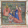 Le Dit de la Fonteinne amoureuse - Guillaume de Machaut endormi et Vénus.jpg