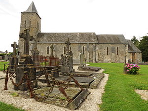 Le Mesnil-Rouxelin - The church of Notre-Dame and cemetery