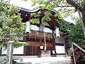 Le Temple Shintô Kadode Hachiman-gû - Le haiden (La construction du culte)2.jpg