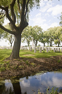 Le Trou Aid Post Cemetery Cemetery located in Pas-de-Calais, in France