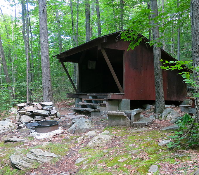 File:Lean-to in Wendell State Forest.JPG