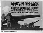 Learn to make and test the big guns - better yourself, enlist and learn a trade in the Ordnance Dept LCCN2002699006.jpg