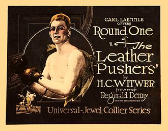 The Leather Pushers - Lobby card
