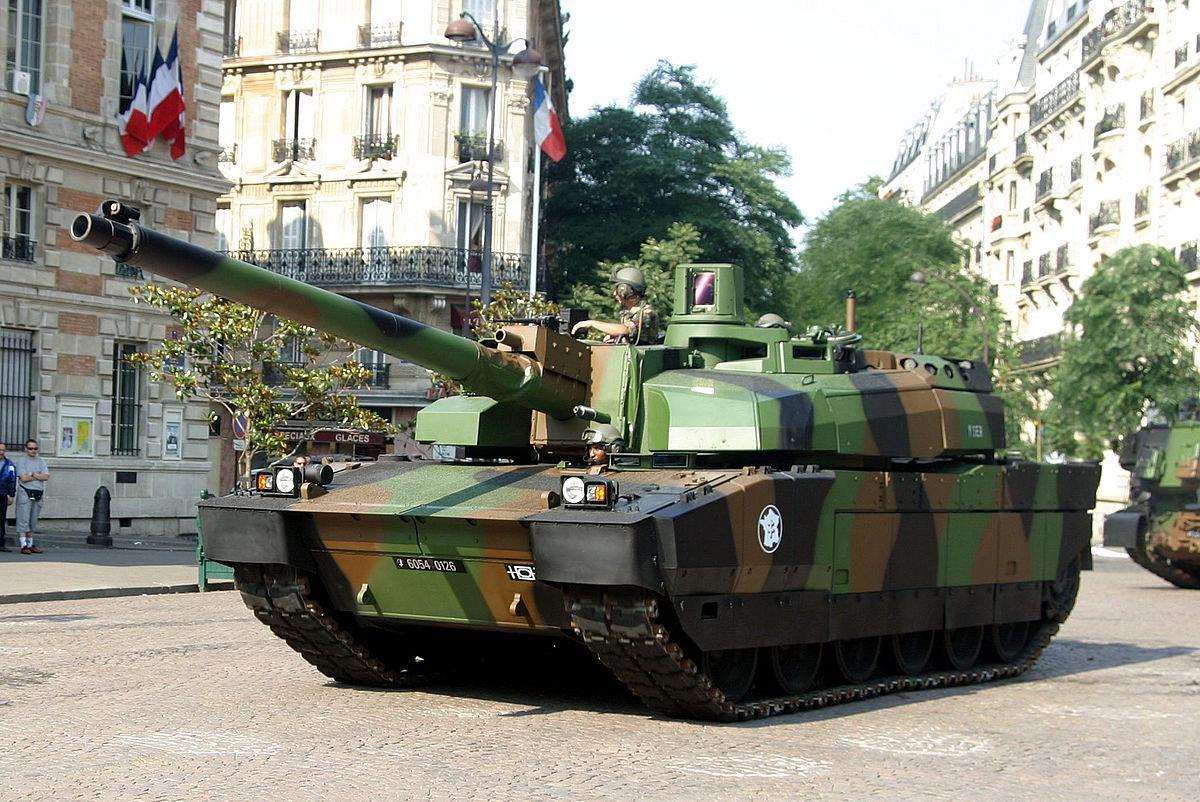 Leclerc panzer wikipedia for Criadero de cachamas en tanques