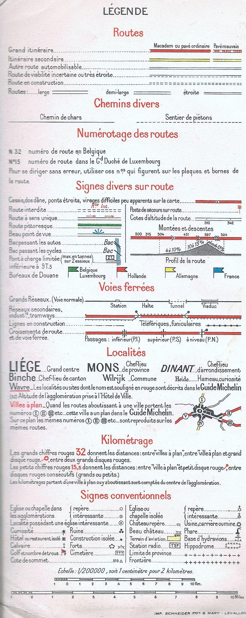 Legenda Michelin kaart 1940.jpg