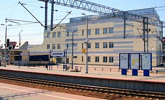 Legionowo railway station - The new station, built in 2014-2016