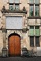 Leiden - Stadhuis Leiden - Door with text (8381038201).jpg