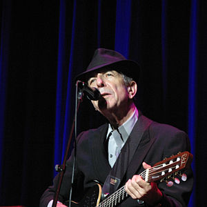 Juno Award for Album of the Year - Singer Leonard Cohen is the 2015 recipient of this award, for Popular Problems.