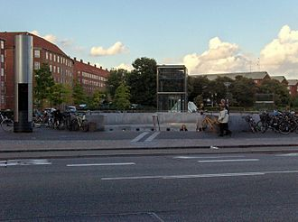 Lergravsparken Station - Image: Lergravsparken Station