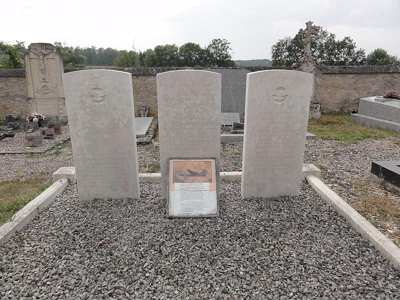 Les Souhesmes (Les Souhesmes-Rampont, Meuse) tombes de guerre de la CWGC cimetière Souhesme-la-Grande