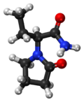 Levetiracetam ball-and-stick model.png