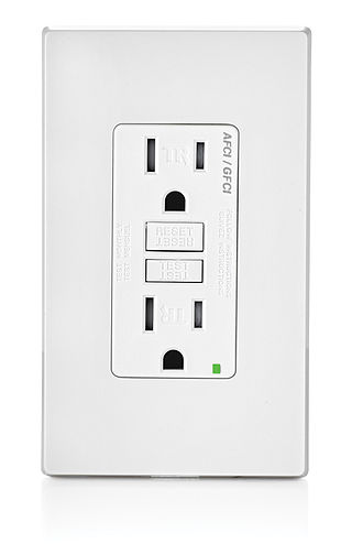 National Electrical Code - A 120 Volt combination AFCI/GFCI receptacle