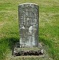 Lewis S. Zumwalt headstone - Hillsboro, Oregon.JPG