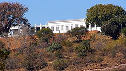 Libertas, since 1994 known as Mahlamba Ndlopfu, in 1934 by Gerard Moerdijk designed as official residence in Pretoria for the state of the Union of South Africa. - panoramio.jpg