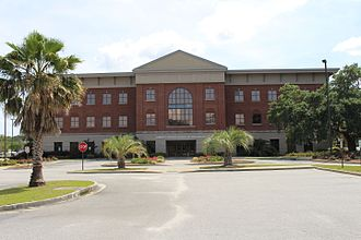 Hinesville, Georgia - Liberty County School District headquarters