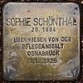 Liebenburg Stolperstein Schönthal, Sophie.jpg