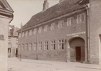 Roskilde Museum - The Liebe House in 1905