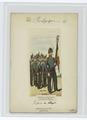Lieutenant porte-drapeau et garde du drapeau. Infanterie de ligne (NYPL b14896507-86047).tiff