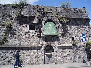 King's Island, Limerick - Bourke's House (1690) Athlunkard Street.