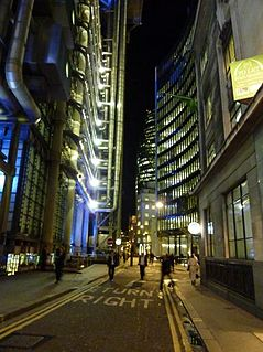 road in the City of London