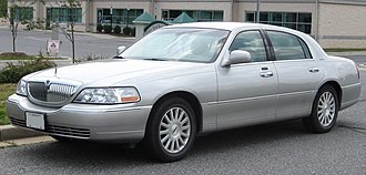 Lincoln Town Car - Image: Lincoln Town Car